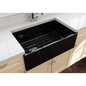 Farmhouse Sink Bocchi 1346-005-0120 30 Fireclay Apron