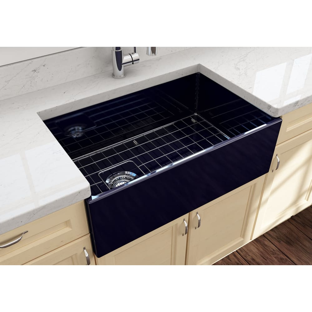 Farmhouse Sink Bocchi 1346-010-0120 30 Fireclay Apron