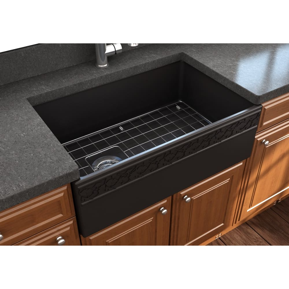 Farmhouse Sink Bocchi 1347-004-0120 30 Fireclay Apron