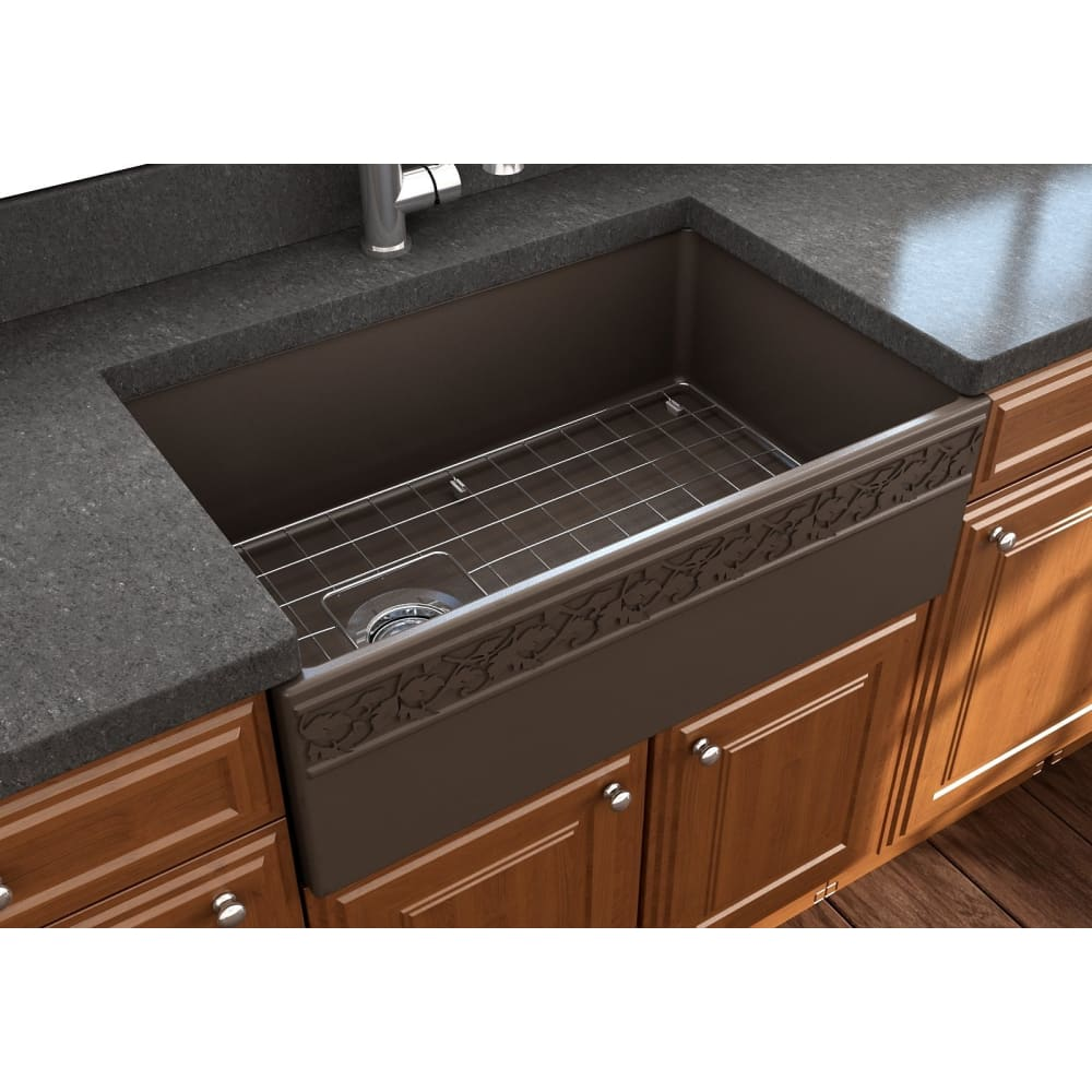 Farmhouse Sink Bocchi 1347-025-0120 30 Fireclay Apron