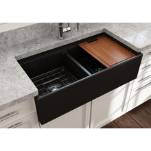 Load image into Gallery viewer, Farmhouse Sink Bocchi 1348-004-0120 36 Fireclay Apron