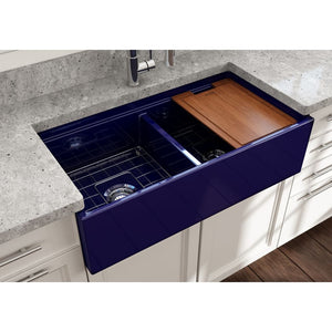 Farmhouse Sink Bocchi 1348-010-0120 36 Fireclay Apron