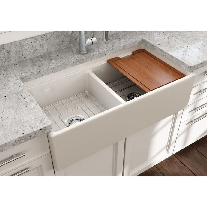 Farmhouse Sink Bocchi 1348-014-0120 36 Fireclay Apron