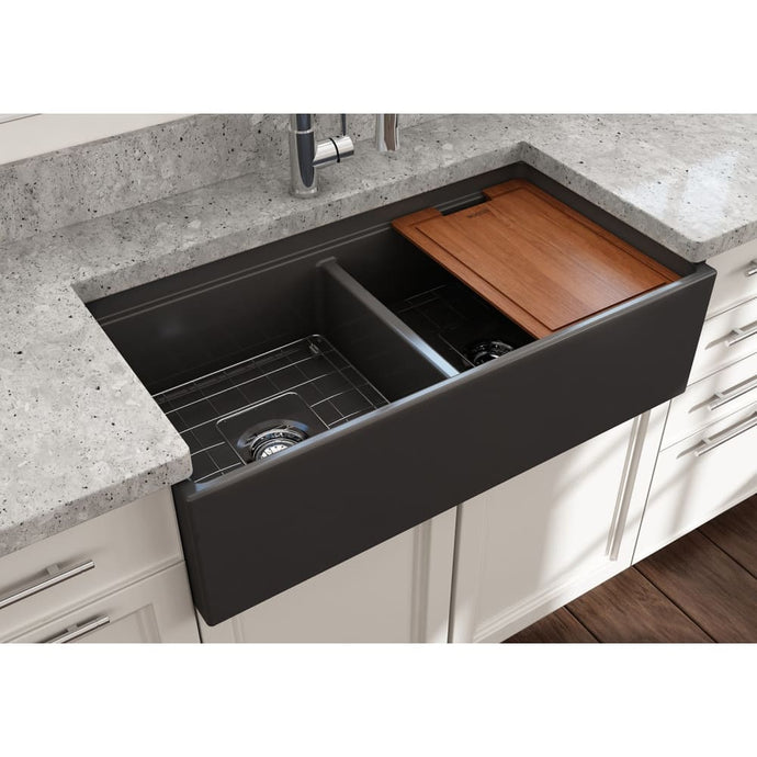 Farmhouse Sink Bocchi 1348-020-0120 36 Fireclay Apron