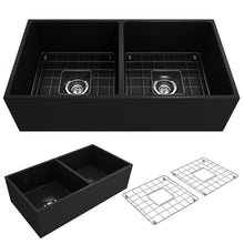Load image into Gallery viewer, Farmhouse Sink Bocchi 1350-005-0120 36 Fireclay Apron