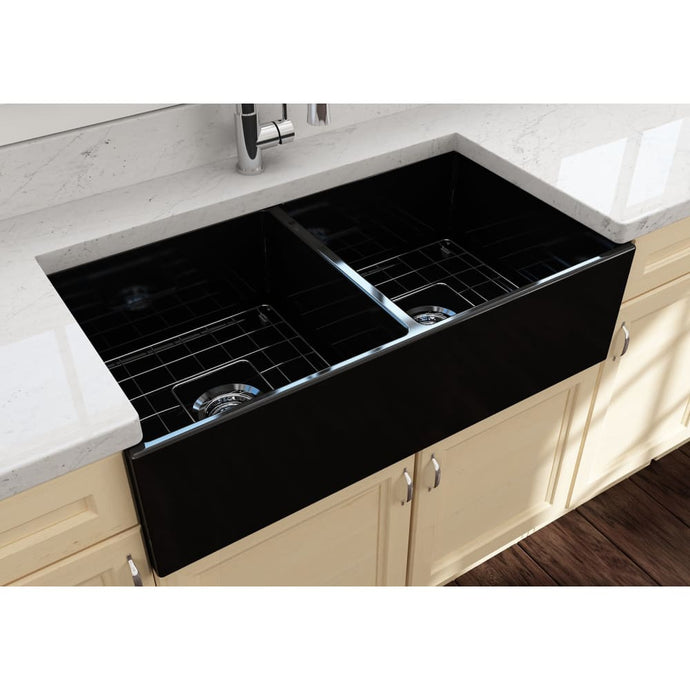 Farmhouse Sink Bocchi 1350-005-0120 36 Fireclay Apron