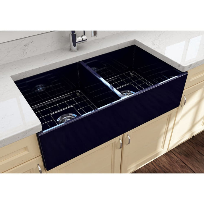 Farmhouse Sink Bocchi 1350-010-0120 36 Fireclay Apron