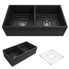 Load image into Gallery viewer, Farmhouse Sink Bocchi 1351-020-0120 36 Fireclay Apron