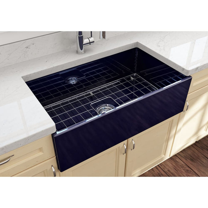 Farmhouse Sink Bocchi 1352-010-0120 33 Fireclay Apron