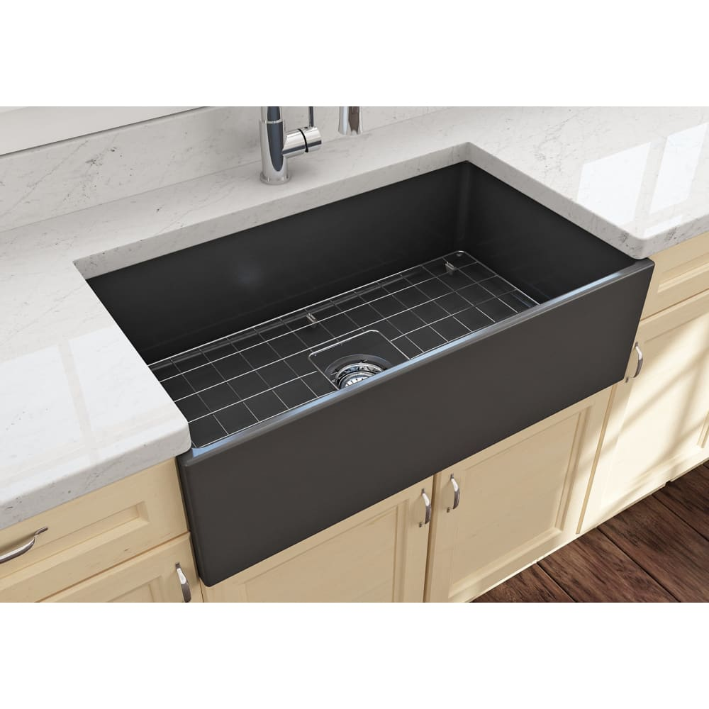 Farmhouse Sink Bocchi 1352-020-0120 33 Fireclay Apron