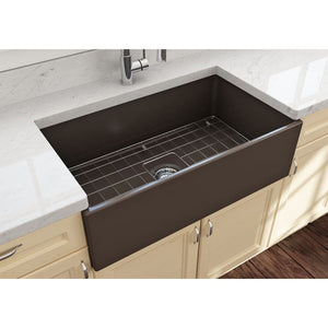 Farmhouse Sink Bocchi 1352-025-0120 33 Fireclay Apron