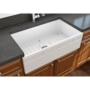 Farmhouse Sink Bocchi 1353-002-0120 33 Fireclay Apron