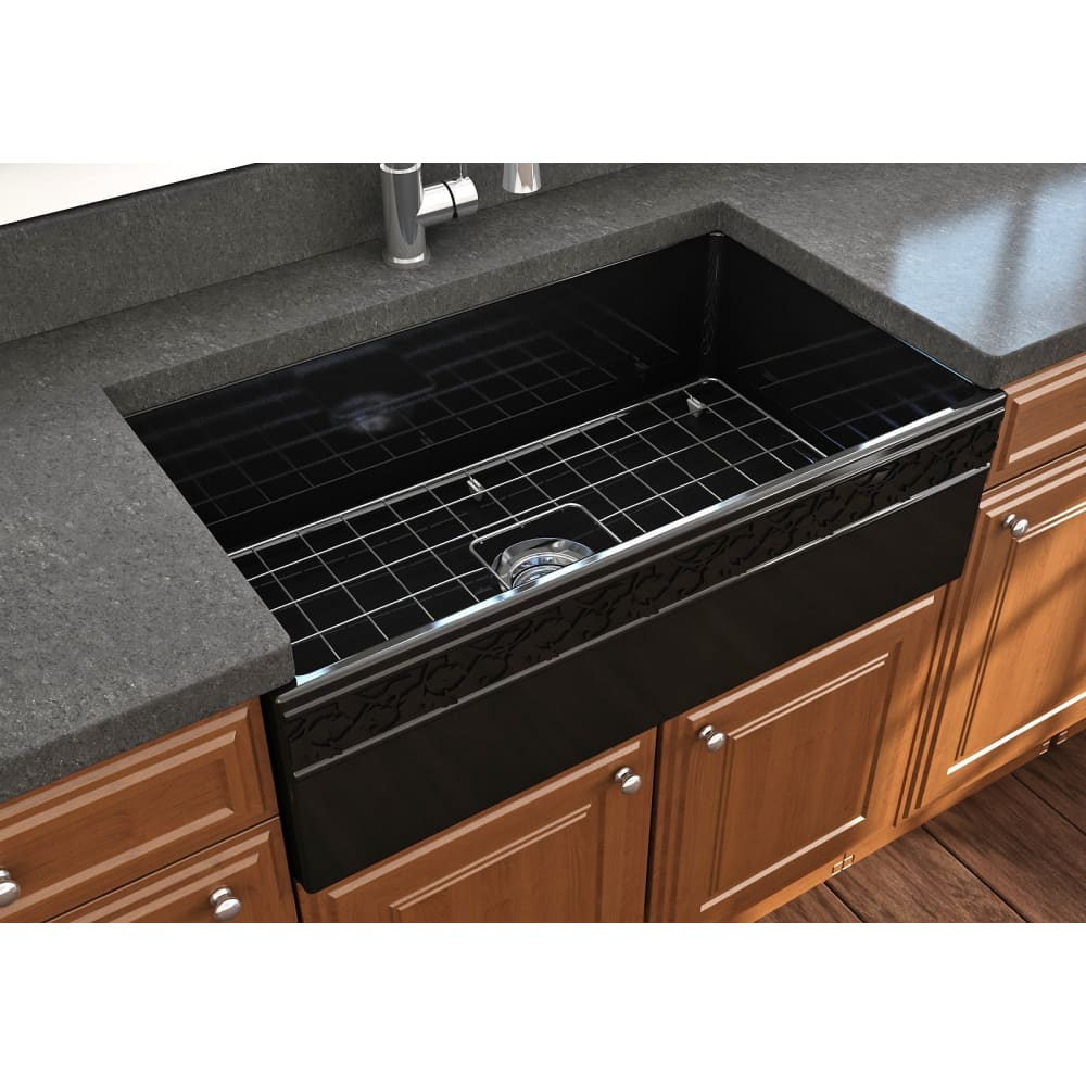 Farmhouse Sink Bocchi 1353-005-0120 33 Fireclay Apron