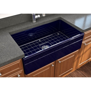 Farmhouse Sink Bocchi 1353-010-0120 33 Fireclay Apron