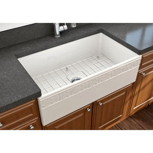 Farmhouse Sink Bocchi 1353-014-0120 33 Fireclay Apron