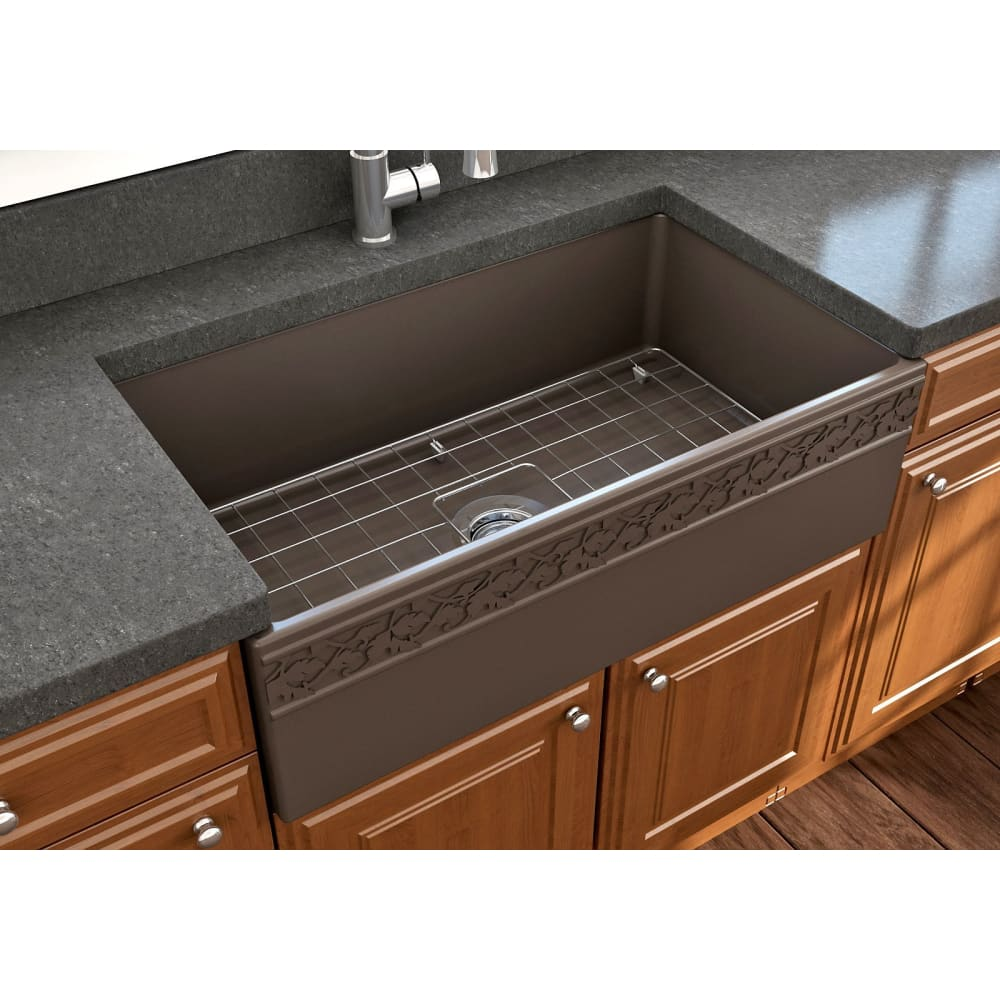 Farmhouse Sink Bocchi 1353-025-0120 33 Fireclay Apron