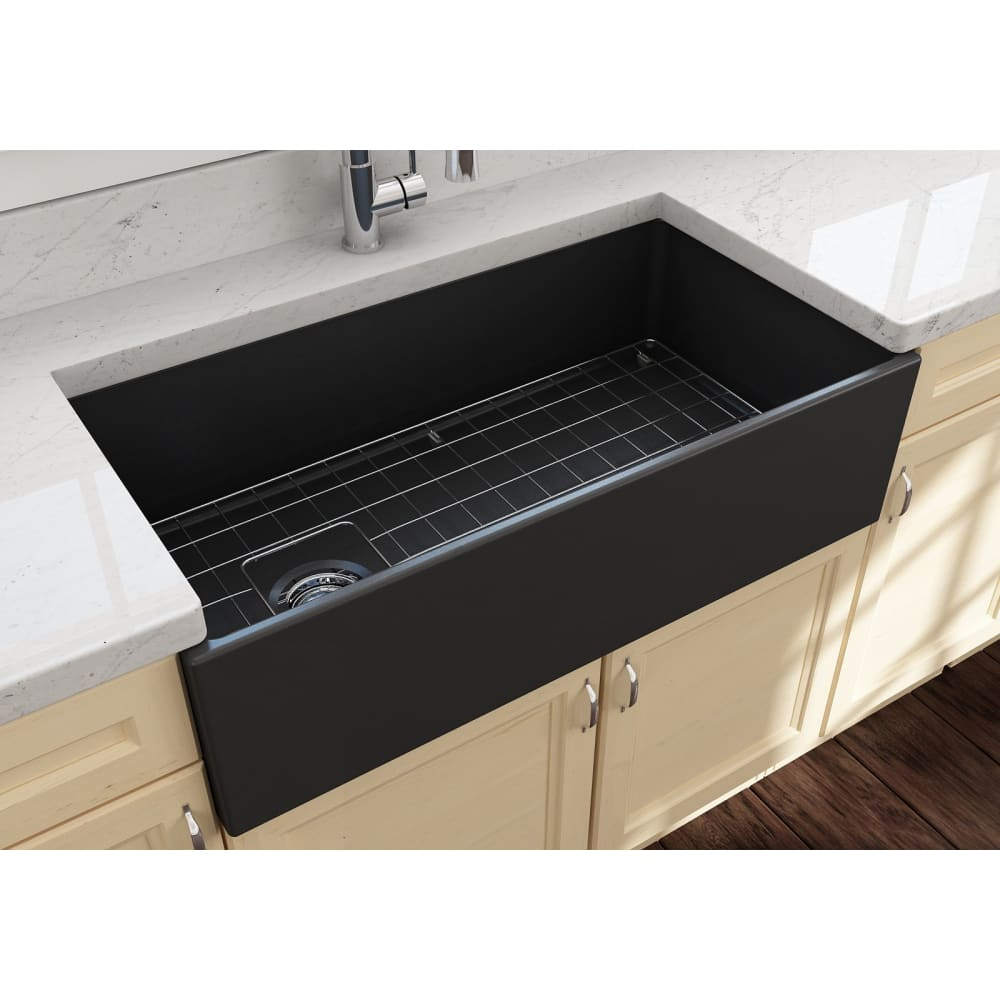 Farmhouse Sink Bocchi 1354-020-0120 36 Fireclay Apron