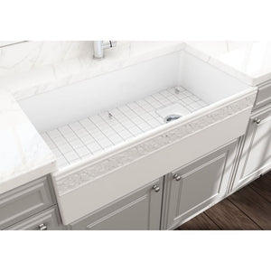 Farmhouse Sink Bocchi 1355-001-0120 36 Fireclay Apron