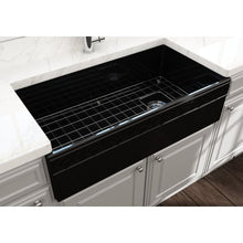Load image into Gallery viewer, Farmhouse Sink Bocchi 1355-005-0120 36 Fireclay Apron