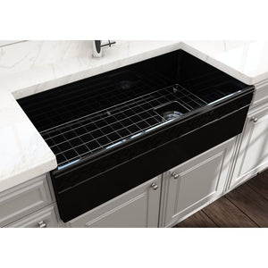 Farmhouse Sink Bocchi 1355-005-0120 36 Fireclay Apron