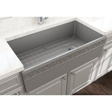 Load image into Gallery viewer, Farmhouse Sink Bocchi 1355-006-0120 36 Fireclay Apron