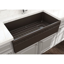Load image into Gallery viewer, Farmhouse Sink Bocchi 1355-025-0120 36 Fireclay Apron