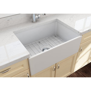 Farmhouse Sink Bocchi 1356-002-0120 27 Fireclay Apron