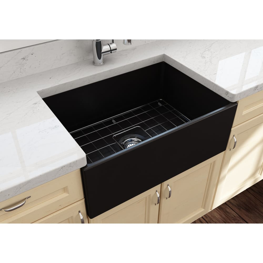 Farmhouse Sink Bocchi 1356-004-0120 27 Fireclay Apron