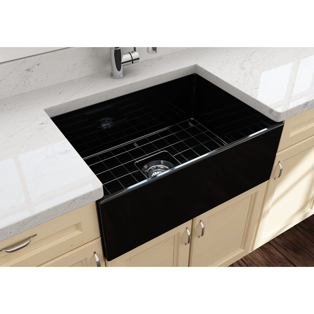 Farmhouse Sink Bocchi 1356-005-0120 27 Fireclay Apron