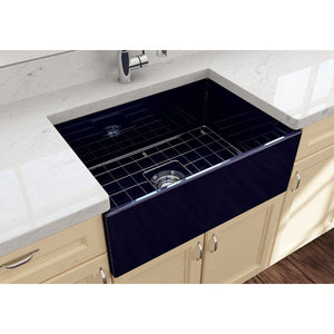 Farmhouse Sink Bocchi 1356-010-0120 27 Fireclay Apron