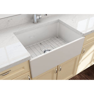 Farmhouse Sink Bocchi 1356-014-0120 27 Fireclay Apron