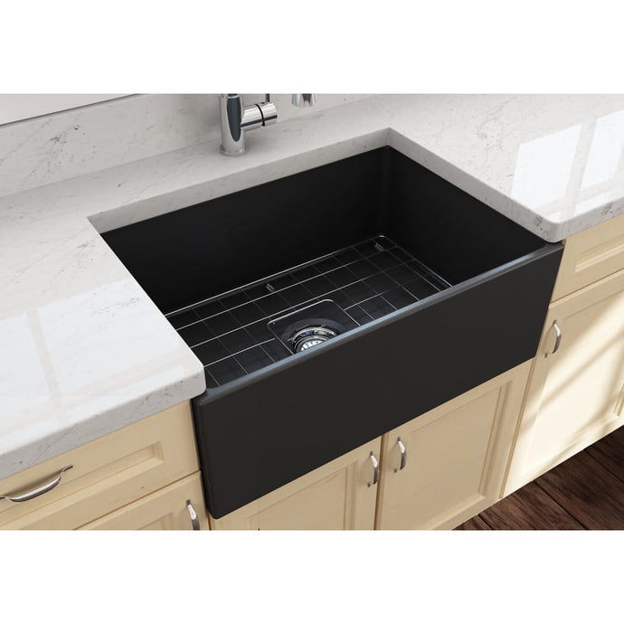 Farmhouse Sink Bocchi 1356-020-0120 27 Fireclay Apron