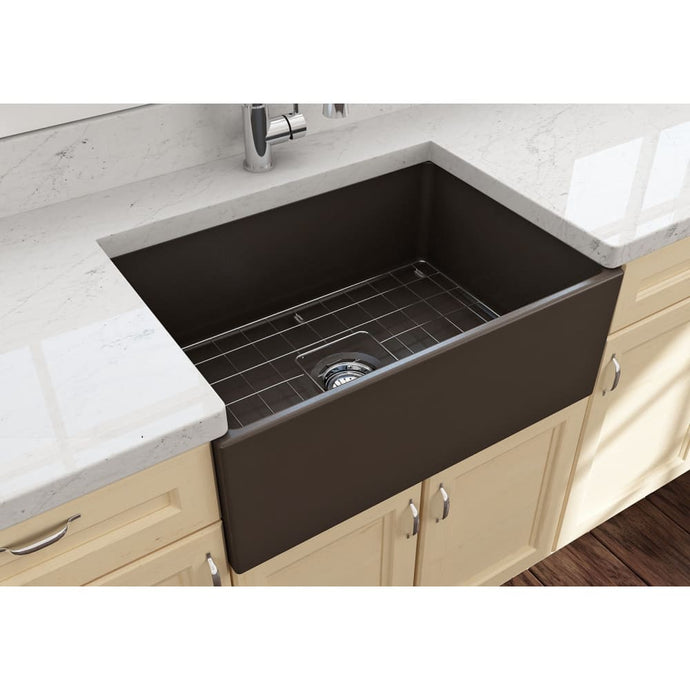 Farmhouse Sink Bocchi 1356-025-0120 27 Fireclay Apron