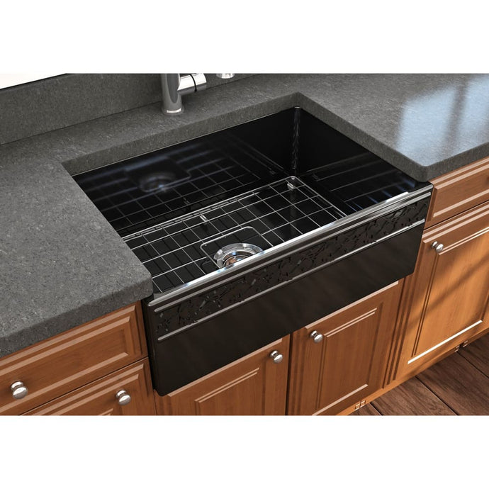 Farmhouse Sink Bocchi 1357-005-0120 27 Fireclay Apron