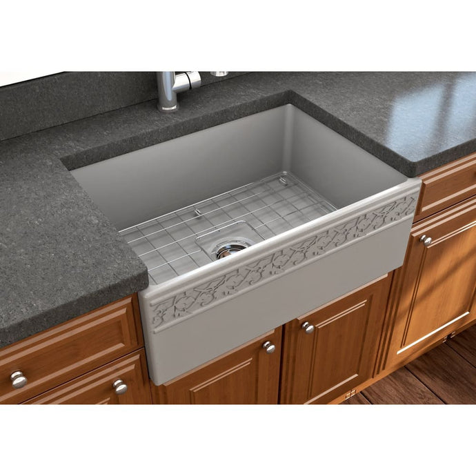 Farmhouse Sink Bocchi 1357-006-0120 27 Fireclay Apron