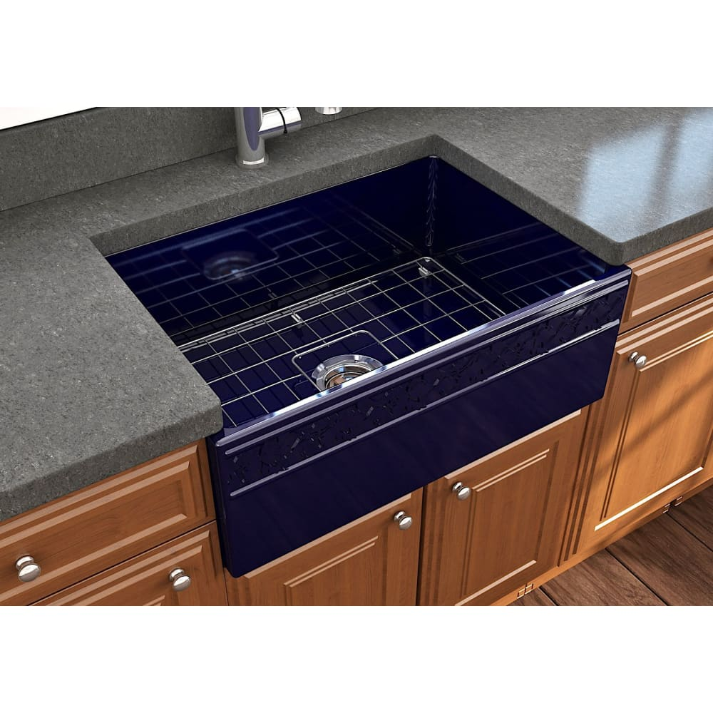 Farmhouse Sink Bocchi 1357-010-0120 27 Fireclay Apron