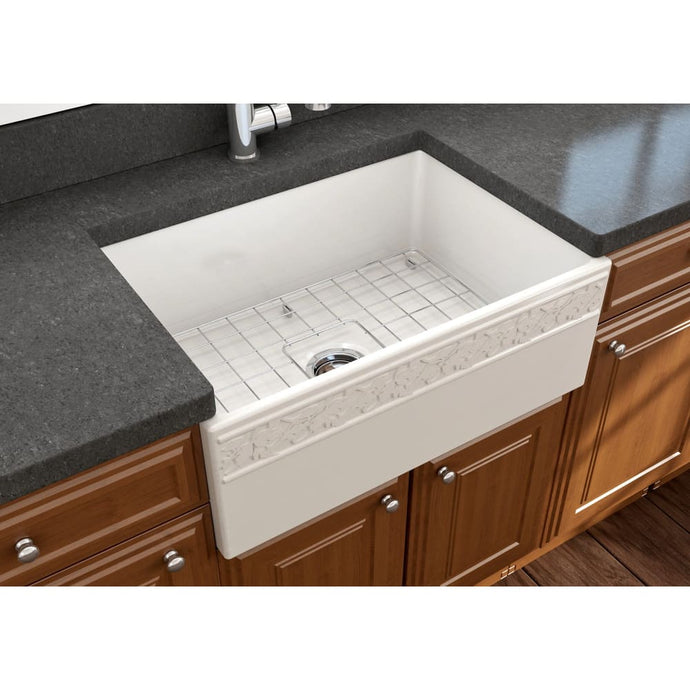 Farmhouse Sink Bocchi 1357-014-0120 27 Fireclay Apron