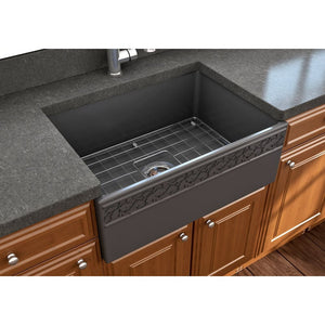 Farmhouse Sink Bocchi 1357-020-0120 27 Fireclay Apron