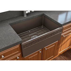 Farmhouse Sink Bocchi 1357-025-0120 27 Fireclay Apron