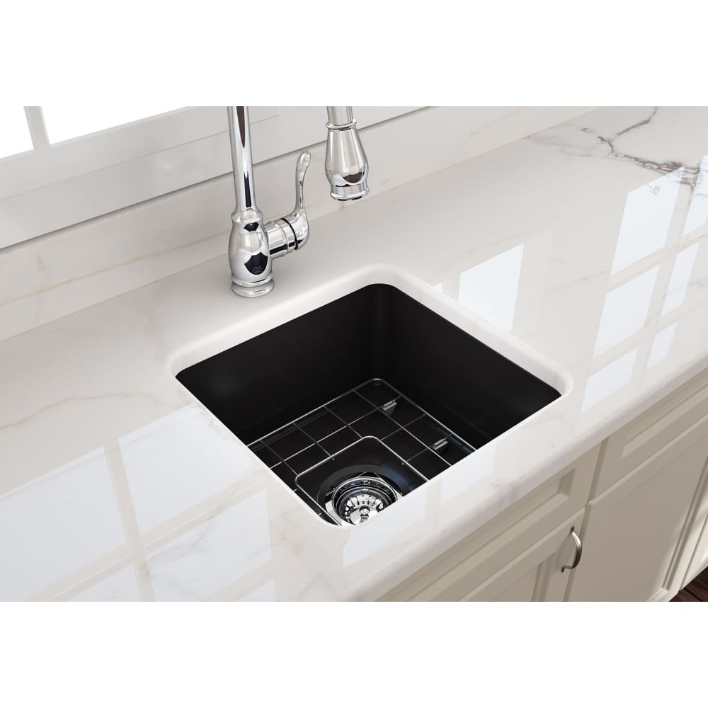 Farmhouse Sink Bocchi 1359-004-0120 18 Fireclay Undermount