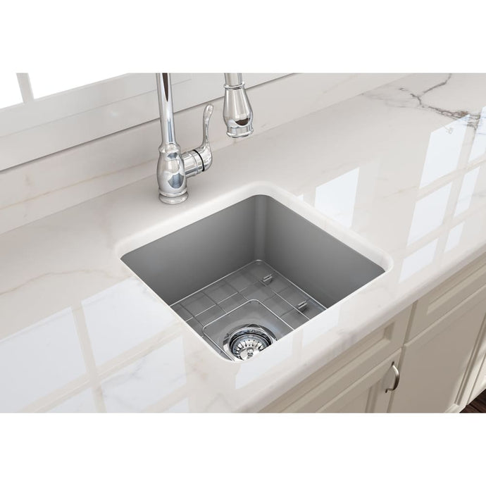 Farmhouse Sink Bocchi 1359-006-0120 18 Fireclay Undermount