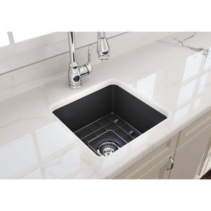 Farmhouse Sink Bocchi 1359-020-0120 18 Fireclay Undermount