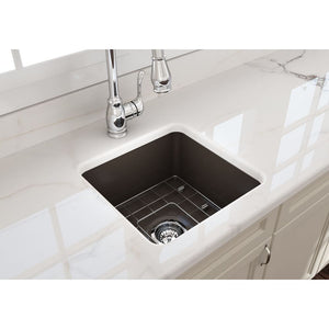Bocchi 18 Fireclay Farmhouse Sink Undermount Kitchen Sink
