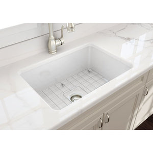 Farmhouse Sink Bocchi 1360-001-0120 27 Fireclay Undermount