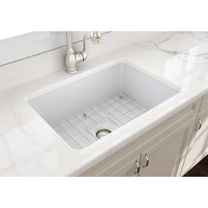Farmhouse Sink Bocchi 1360-002-0120 27 Fireclay Undermount