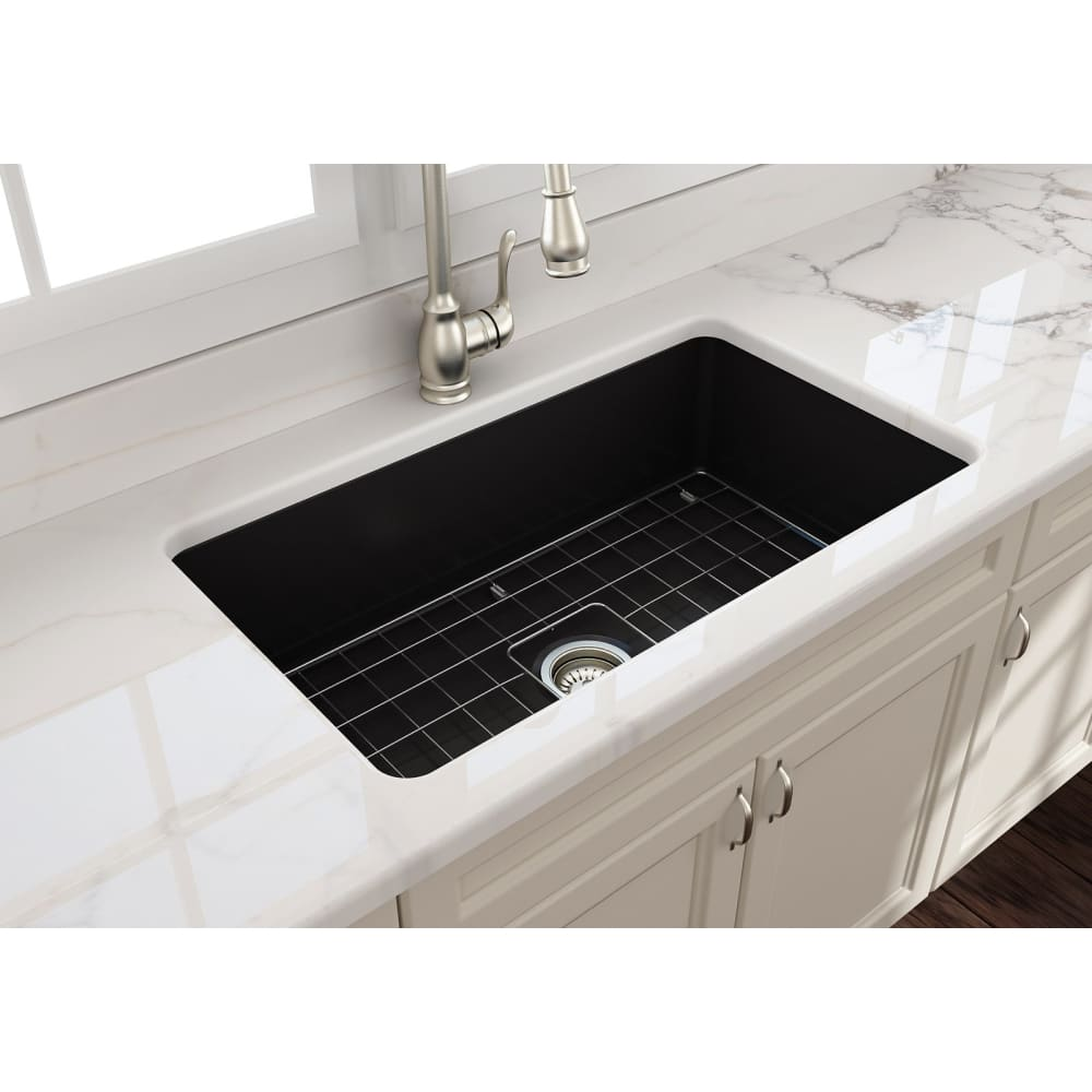 Farmhouse Sink Bocchi 1362-004-0120 32 Fireclay Undermount