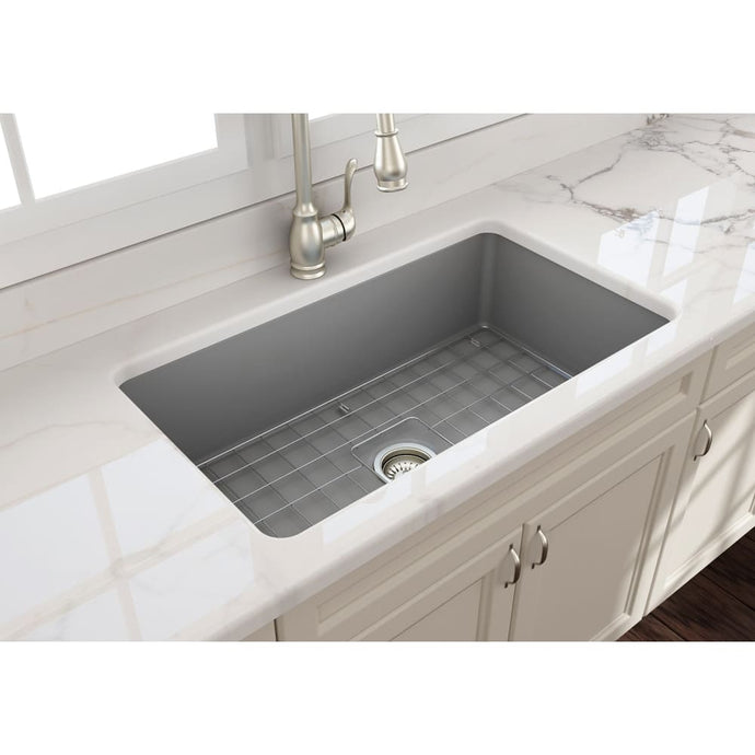 Farmhouse Sink Bocchi 1362-006-0120 32 Fireclay Undermount
