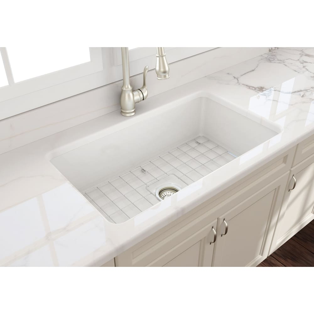 Farmhouse Sink Bocchi 1362-014-0120 32 Fireclay Undermount
