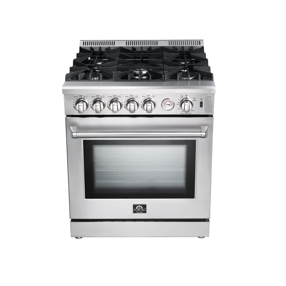 Range Forno FFSGS6275-30 30 Freestanding Gas with 5 Burners