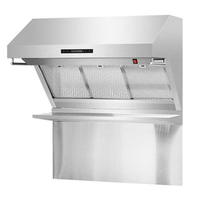 Range Hood Forno FRHWM5029-36HB FORNO 36 Wall Mount with Red